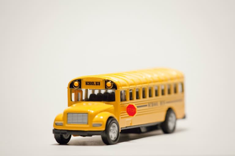 Yellow School Bus Toy
